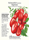 Tomato Bush Supremo Seeds