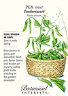 Pea Snap Tendersweet Seeds