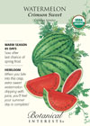 Watermelon Crimson Sweet Organic HEIRLOOM Seeds