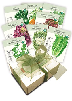 Super Organic Salads Seed Collection