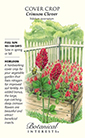 Cover Crop Crimson Clover HEIRLOOM Seeds (LG)